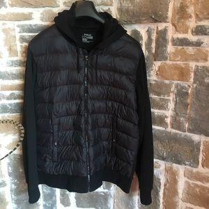 Sz XL Men's Polo nylon performance hoodie